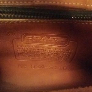 Coach Bags - 70s vintage Coach crossbody purse